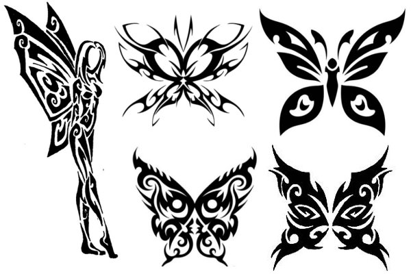 Beautiful Butterfly Tattoos – This time it's tribal