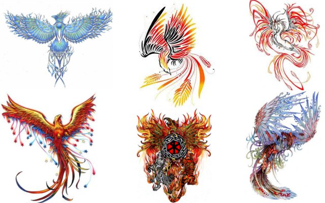 Phoenix Tattoo Ideas - ArtBody Tattoo Designs - Tattoo Ideas